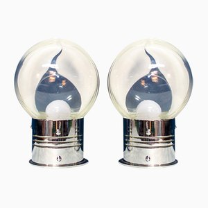 Lampes en Verre de Murano par Toni Zuccheri pour Veart, Italie, 1970s, Set de 2