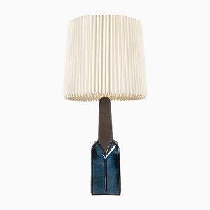 Dänische moderne Keramik Tischlampe von Søholm, 1960er