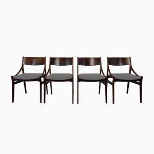 Dänische Esszimmerstühle aus Palisander von Vestervig Eriksen, 1960er, 4er Set
