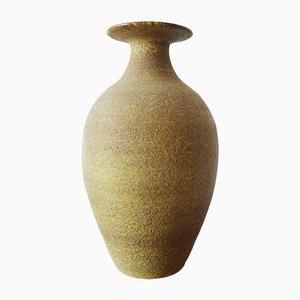 Jarrón de suelo grande de cerámica, años 60