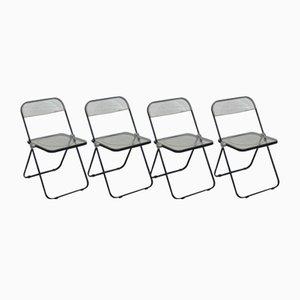 Chiehe Chi Stühle von Giancarlo Pierretti für Anonymima, 1990er, 4er Set
