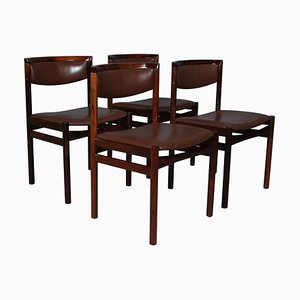 Dining Chairs by Kurt Østervig, Set of 4
