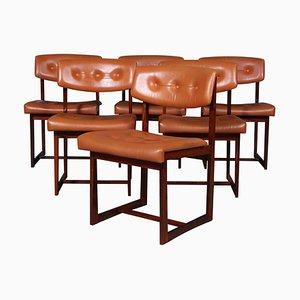 Stühle von Henning Sørensen, 6er Set