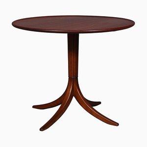 Runder Tisch aus Kuba Mahagoni von Frits Henningsen