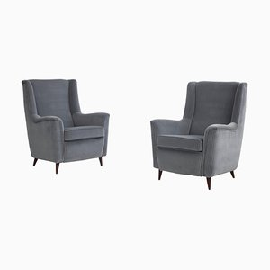 Armchairs by Ico Parisi for Ariberto Colombo, Italy, 1951, Set of 2