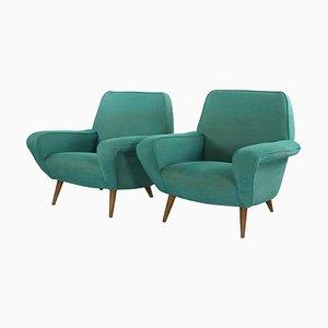 Modell 830 Stühle von Gianfranco Frattini für Cassina, 1950er, 2er Set