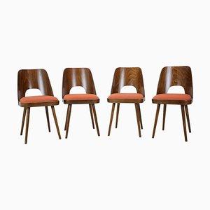 Chaises de Salle à Manger par Oswald Haerdtl, 1960s, Set de 4