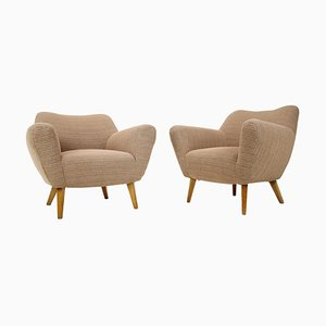 Club Armchairs, 1970s, Set of 2