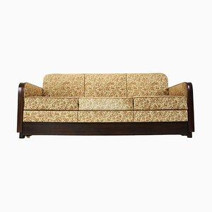 Art Deco Drei-Sitzer Sofa von Jindřich Halabala, 1930er