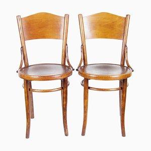Stühle von Thonet, 2er Set