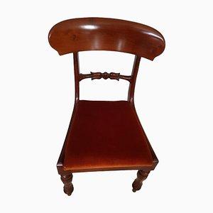 Mahogany Wood Chair, 19th Century
