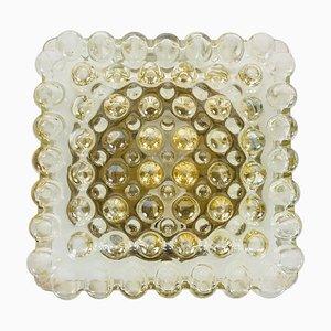 Mid-Century Bubble Glas Deckenlampe von Glashütte Limburg, 1960er, Deutschland