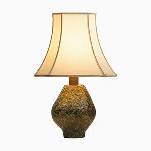 Vintage Ceramic Brutalism Lamp