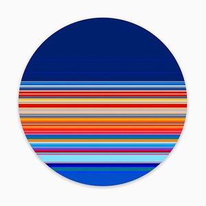 Paul Snell, Intersect # 201605, 2016, plexiglás y C-Print