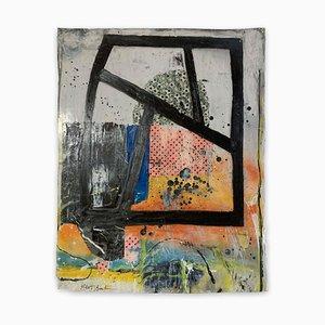 Robert Baribeau, Color Trac #26, 2020, Acrilico su carta