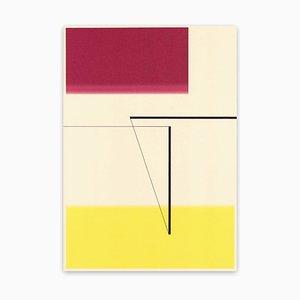 Richard Caldicott, ohne Titel, (Id, 383), 2014, Kugelschreiber und Tintenstrahl auf Papier