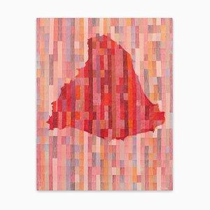Jérémie Iordanoff, Untitled 702, 2018, Olio su tela