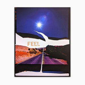 Jason Engelund, Feel, Canyon Road, 2020, Photograph & Paint on Wood