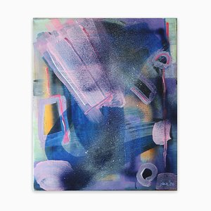 Janin Walter, Ego Attacks, 2020, Acrylic on Canvas