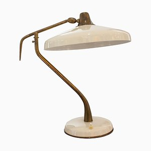 Lampe de Bureau Mid-Century Moderne par Oscar Torlasco, Italie, 1950