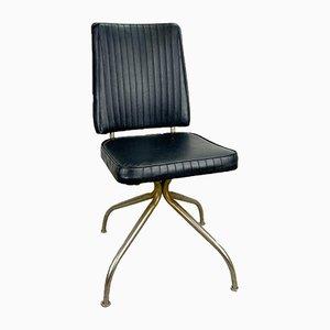 Vintage Black Swivel Chair