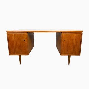 Großer Vintage Schreibtisch, 1960er