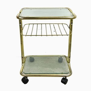 Vintage Glas Servierwagen