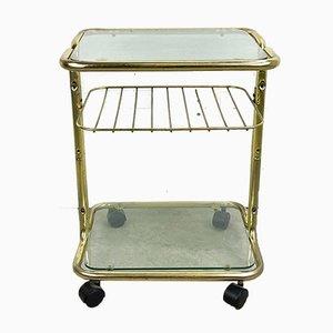 Vintage Glass Trolley