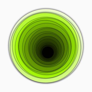Sumit Mehndiratta, Visual Healing 15, 2021, Canvas & Archival Pigment, Framed