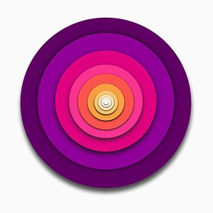 Sumit Mehndiratta, Visual Healing 17, 2021, Canvas & Archival Pigment, Gerahmt