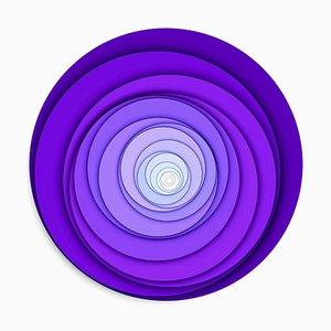 Sumit Mehndiratta, Visual Healing 12, 2021, Toile et Pigment d'Archivage, Encadré