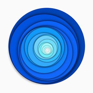 Sumit Mehndiratta, Visual Healing 9, 2021, Canvas & Archival Pigment, Gerahmt