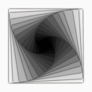 Sumit Mehndiratta, Visual Healing 16, 2021, Toile et Pigment d'Archivage, Encadré