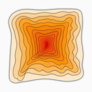 Sumit Mehndiratta, Visual Healing 11, 2021, Toile et Pigment d'Archivage, Encadré