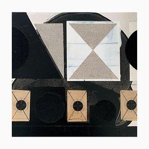 Lukasz Fruczek, Industrial 1, 2020, olio, acrilico e collage