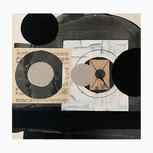 Lukasz Fruczek, Industrial 2, 2020, Öl, Acryl & Collage