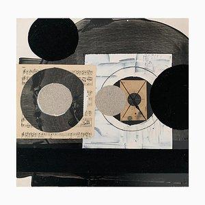 Lukasz Fruczek, Industrial 2, 2020, olio, acrilico e collage