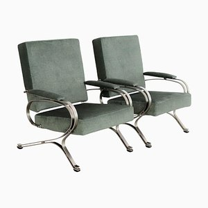 Italian Armchairs by Gianni Moscatelli for Formanova, 1970s, Set of 2