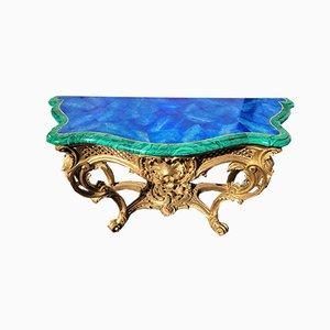 Consola Doré de madera de Valerian Rybar, siglo XX