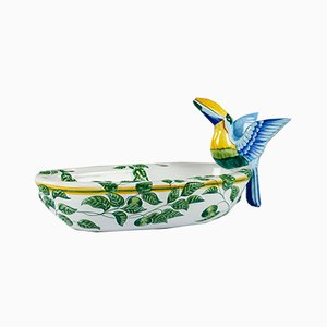 Moustiers Toucans Bowl from Hermes