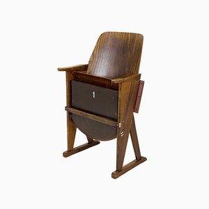 Vintage Cinema Chair from Ton, 1960s