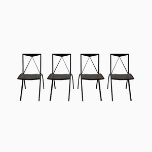 Caltelan Italia Folding Chairs, Set of 4