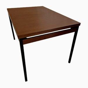 Mid-Century Danish Teak Draw-Leaf Extendable Dining Table