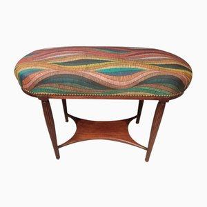 Kleine Art Deco 2-Sitzer Bank