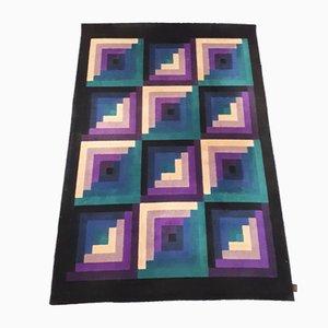 Italian Geometric Carpet from Missoni, 1980s.