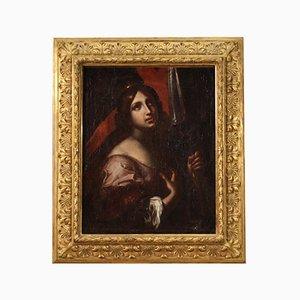 Santa Úrsula, siglo XVIII, óleo sobre lienzo