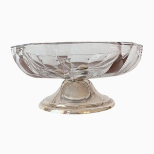 Confection Bowl with Silver Mount