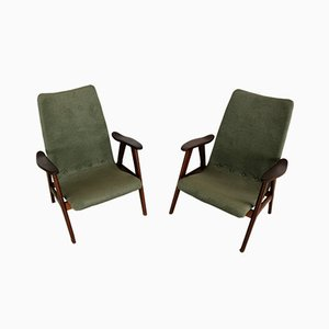 Vintage Easy Chairs from Wébé, Set of 2