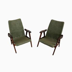 Vintage Sessel von Wébé, 2er Set