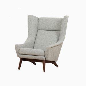 Lounge Chair Model 4410 by Folke Ohlsson for Fritz Hansen, Denmark, 1950s